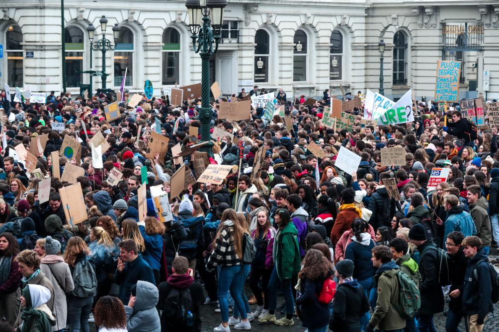 70.000 personnes à la marche pour le climat, 16 arrestations