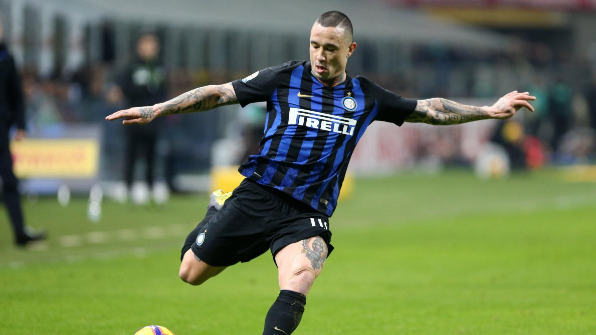 Radja Nainggolan of FC Internazionale during the Serie A Tim match between FC Internazionale and Bologna FC at Stadio Giuseppe Meazza Milan Italy on 03 February 2019. (Photo Marco Canoniero) PICTURES NOT INCLUDED IN THE CONTRACTS   ! only BELGIUM !