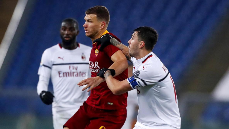 L'AS Rome tient en échec le Milan AC (1-1, vidéos) - Le Soir