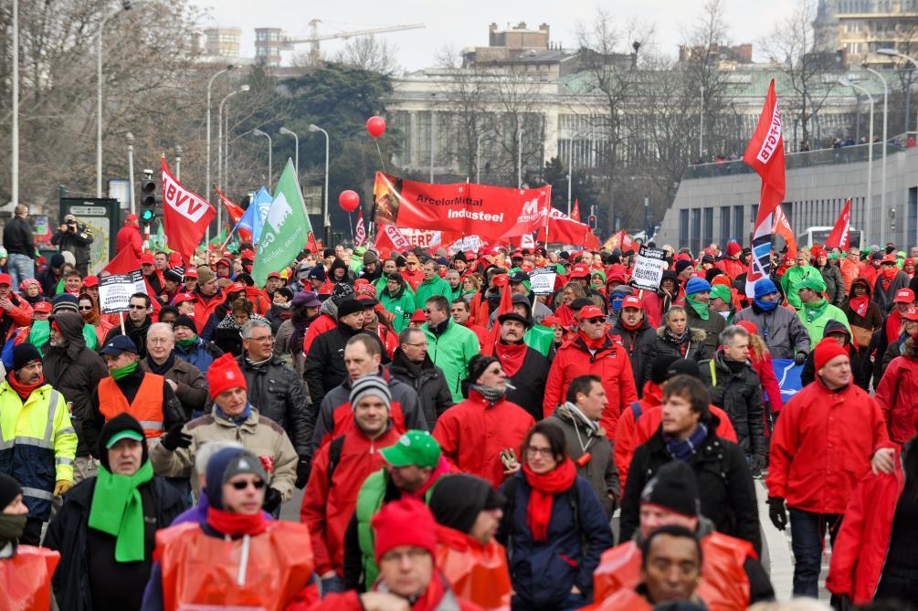 Une grève générale va paralyser la Belgique — Préparez-vous