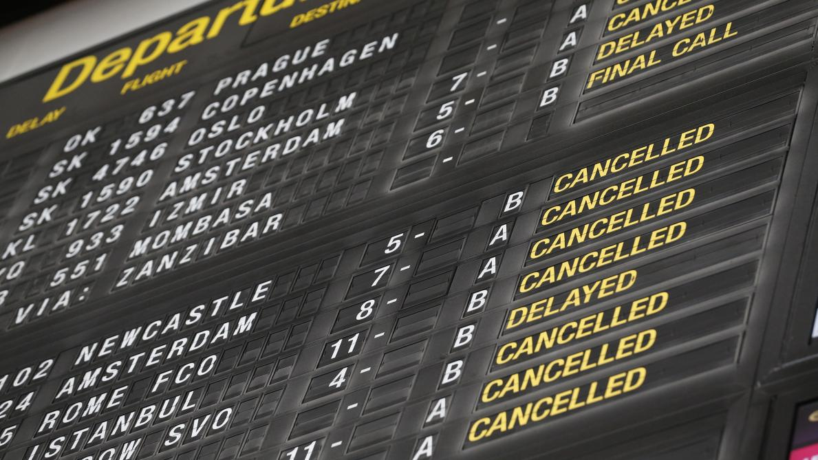 Plus de la moitié des vols supprimés à Brussels Airport