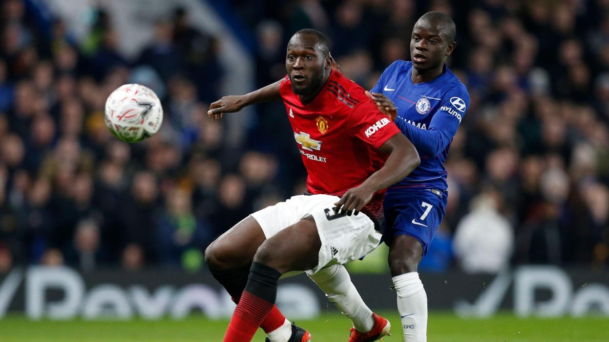 8287b871 FA Cup: Chelsea et Hazard éliminés par Manchester United et Lukaku (0-2,  vidéos) - Le Soir
