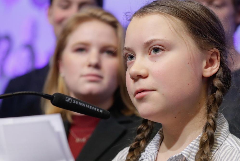 Climat: Macron a reçu Greta Thunberg à l'Élysée