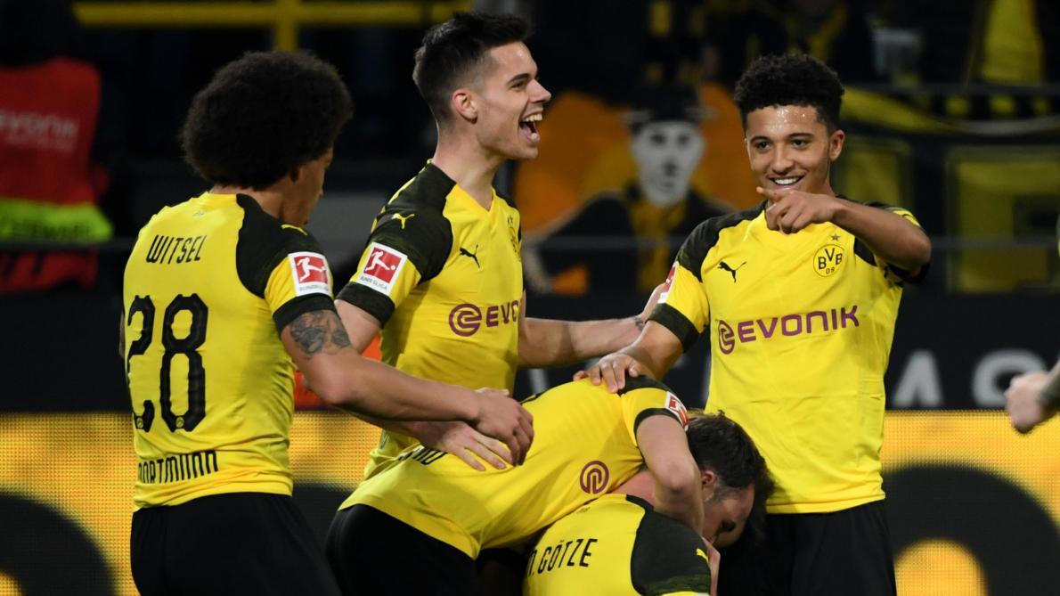 Bundesliga Le Borussia Dortmund Retrouve Le Chemin De La Victoire