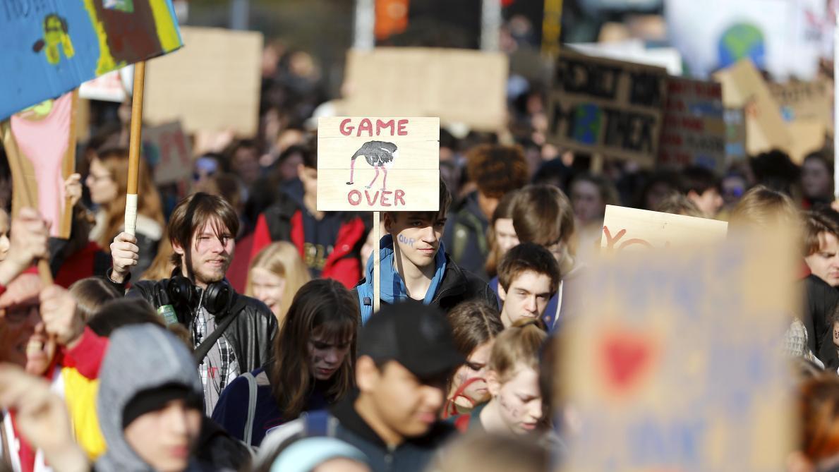 8e4a96b45bb Grève du 15 mars pour le climat  préavis déposés dans les secteurs de l