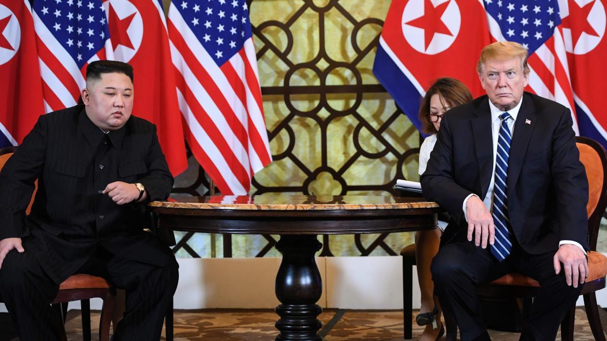 Sommet entre la Corée du Nord et les États-Unis à Singapour en 2018