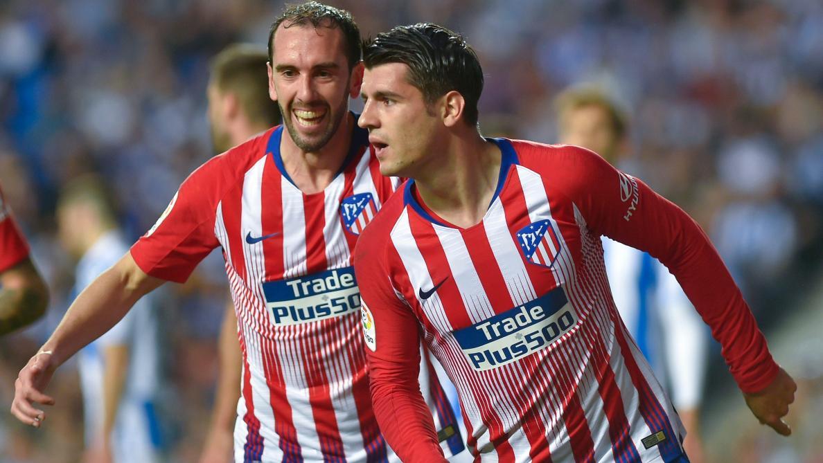 Morata conforte l'Atlético comme dauphin du Barça — Espagne