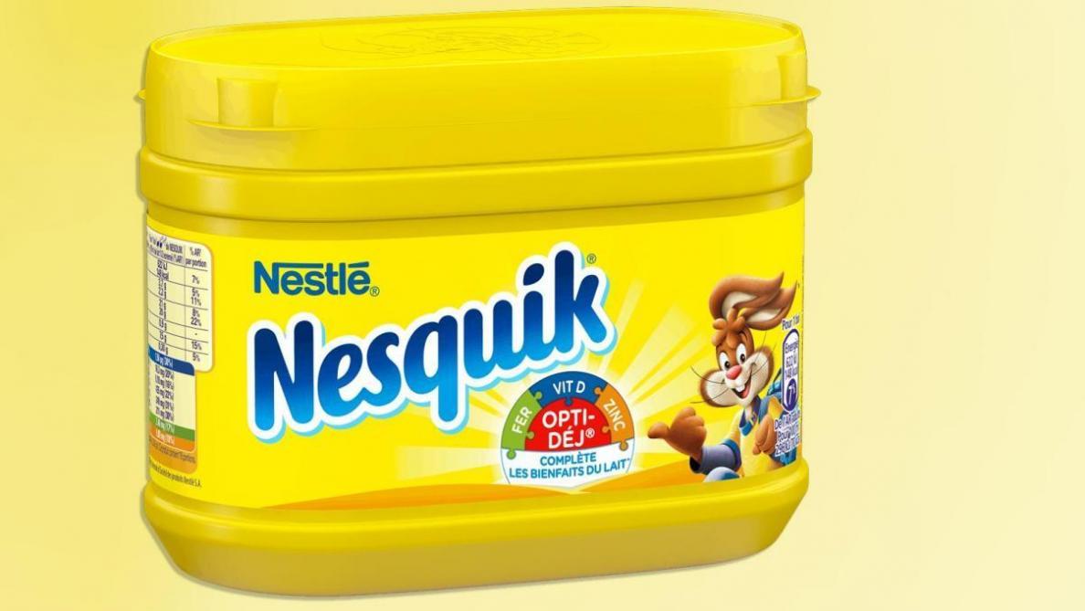 Pollution : la boîte jaune en plastique de Nesquik va cesser d'exister