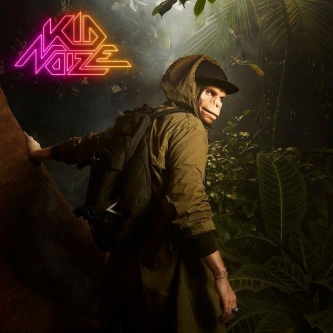 <span>Kid Noize</span> The man with a monkey face