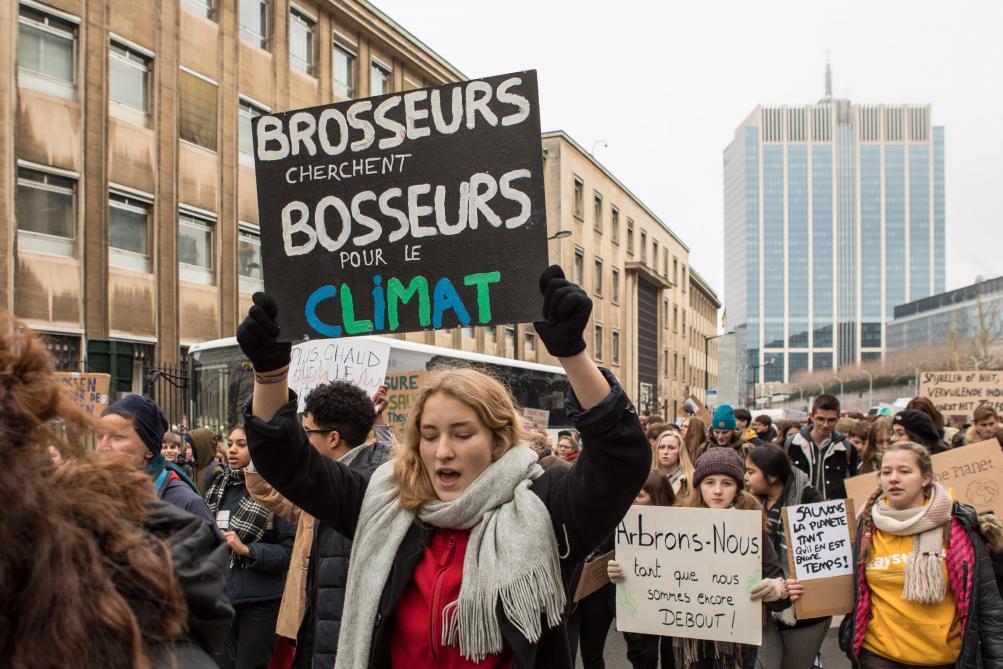 d899fda5076 «Faisons du 15 mars un jour historique pour le climat et l environnement»