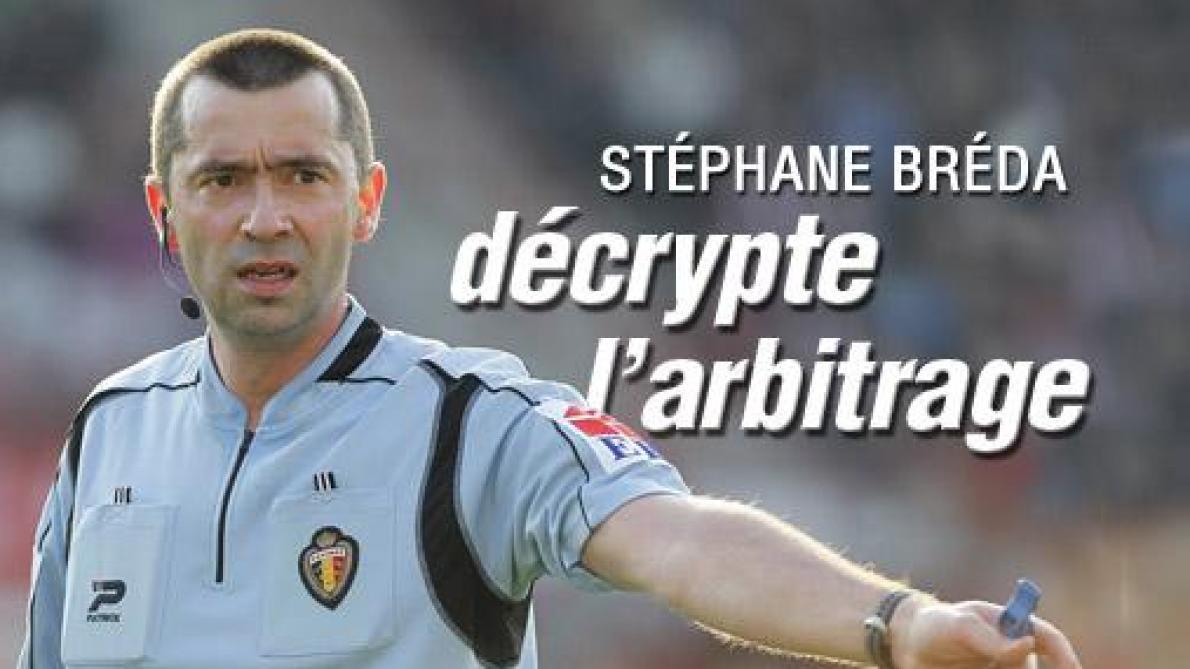 football – arbitrage : Stéphane Breda, notre consultant arbitrage: «Il y avait bien penalty pour Courtrai face