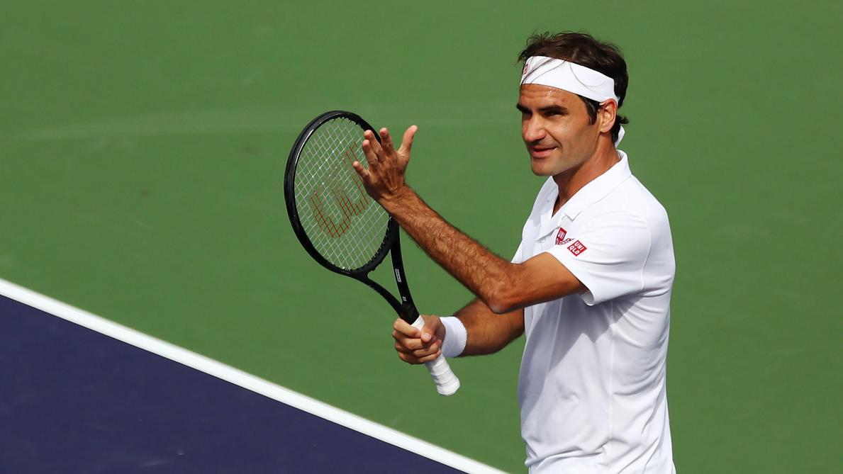 La balade de santé de Roger Federer — Tennis