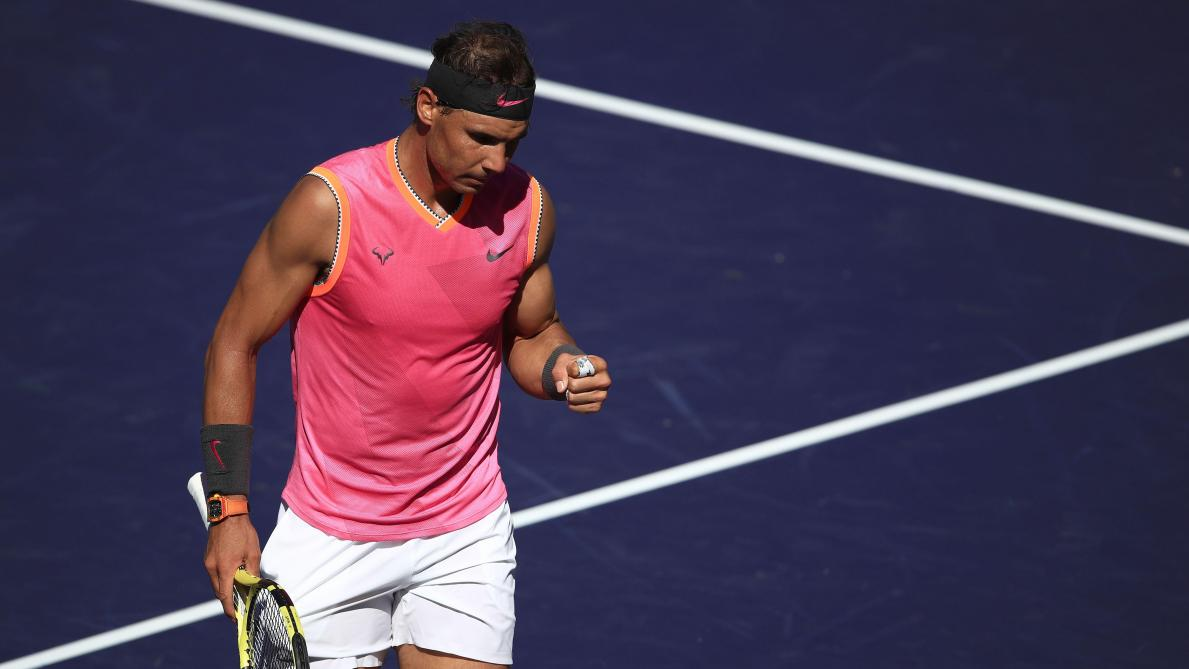 Une nouvelle balade pour Nadal — Indian Wells