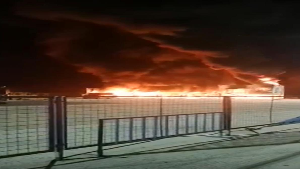 Un grave incendie perturbe les essais de la nouvelle série — MotoE