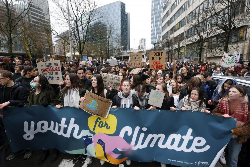 b21734b0f74 Grève mondiale pour le climat  des mobilisations partout en Belgique ce 15  mars