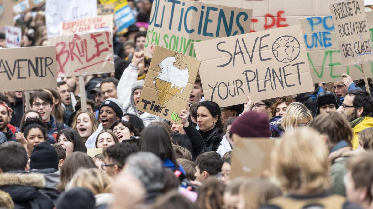 e90aa3e1c1a Grève mondiale pour le climat  plus de 123 pays mobilisés suite à l ...