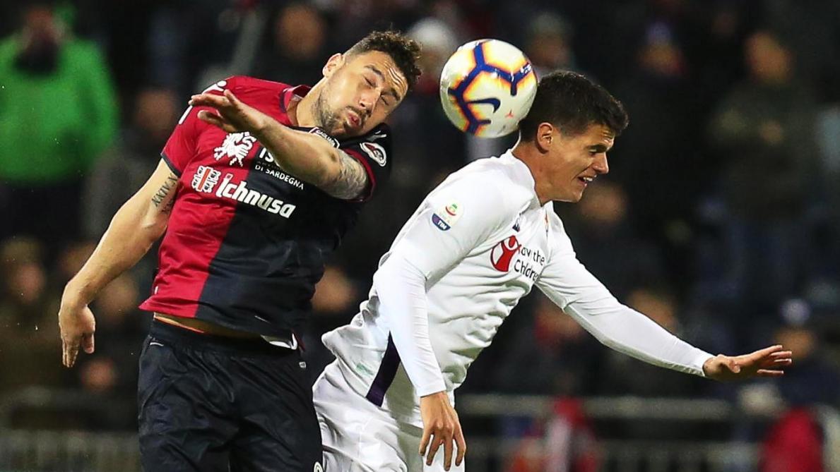 : Cagliari fait chuter la Fiorentina de Mirallas (2-1)