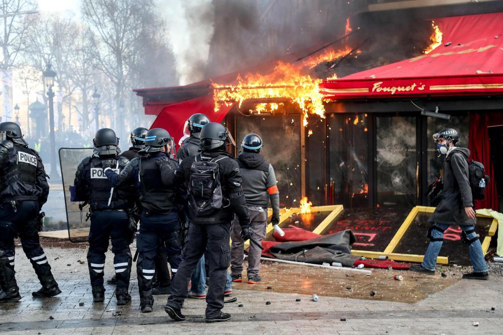 Acte 18 : Paris a replongé dans la violence