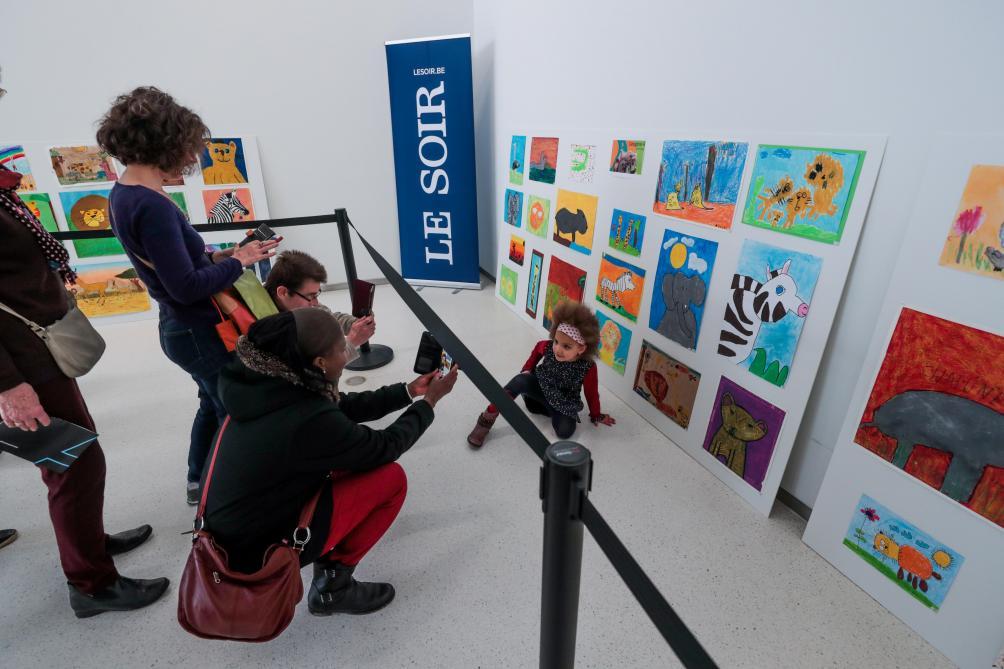 Les photos de la remise des prix du 62e «Concours de dessins du Soir»