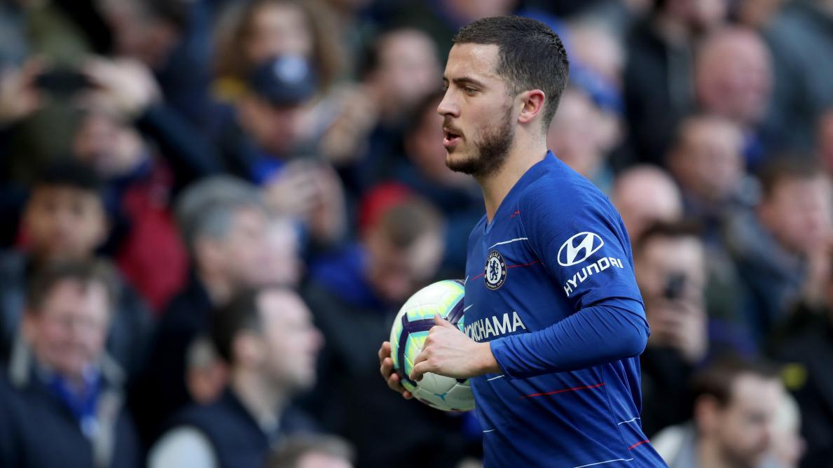 : Eden Hazard n'a pas l'esprit au Real Madrid: «Pour l'instant, je ne pense qu'à Chelsea tous les jours»