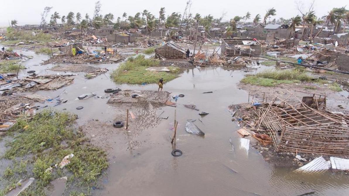 Les images terrifiantes du Mozambique après le cyclone