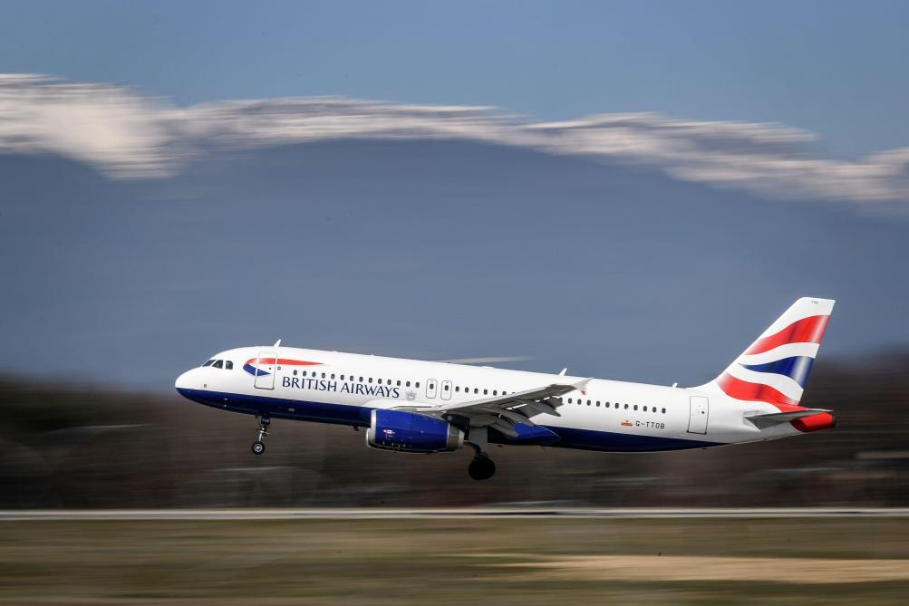 Un avion se trompe de destination — Royaume- Uni