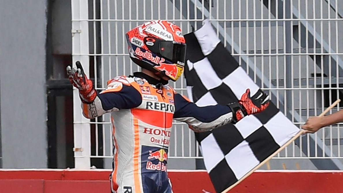 MotoGP Marc Marquez remporte haut la main le GP d'Argentine