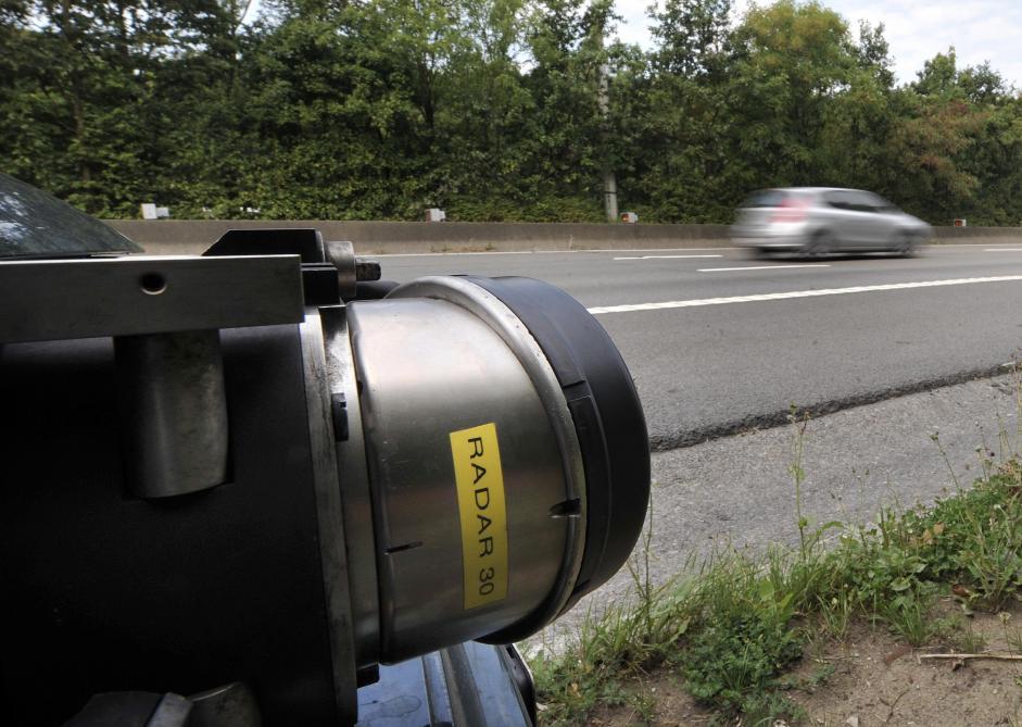 Marathon de contrôle de vitesse ce mercredi: attention aux radars ...