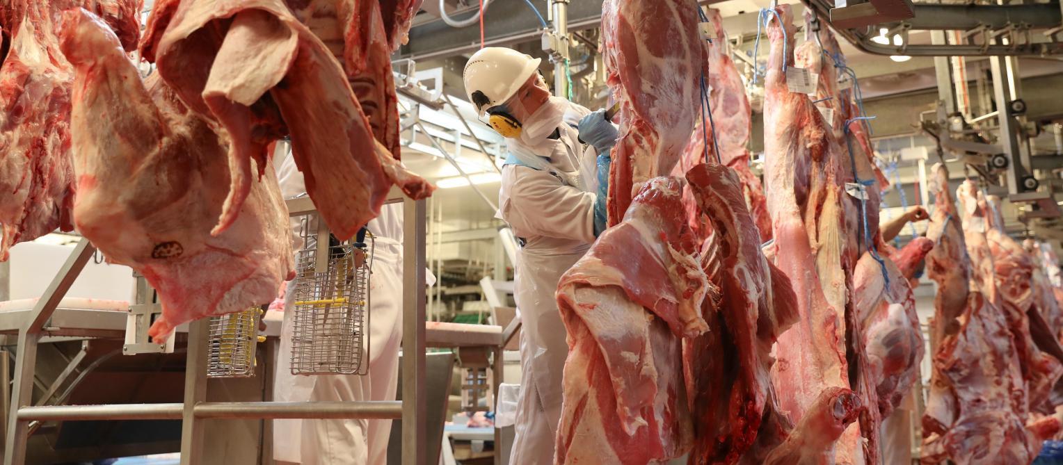 248a5cd3430 Le groupe se charge déjà de la découpe de viande dans ses ateliers de Hal.