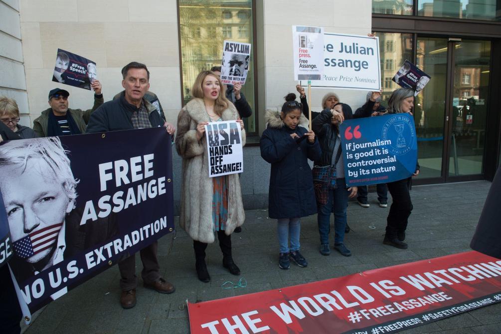 : Assange va s'opposer à la demande d'extradition américaine