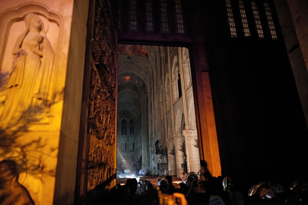 La cathédrale Notre-Drame de Paris ravagée par un incendie: les photos de l'intérieur