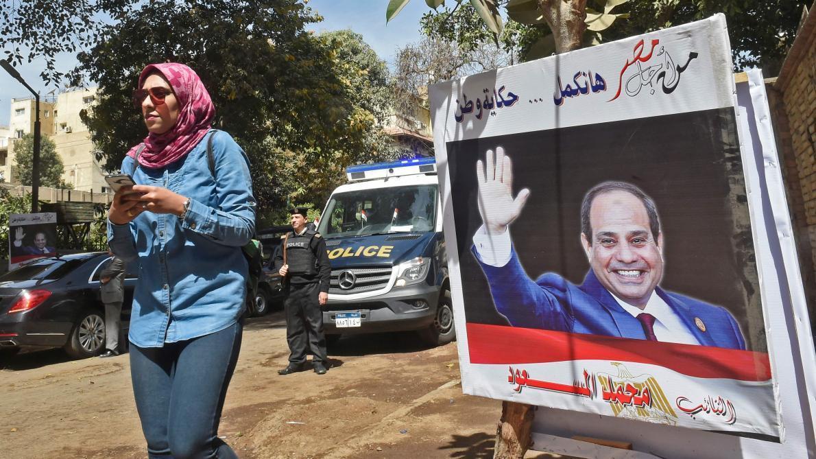 Egypte: début du référendum pour prolonger la présidence de Sissi