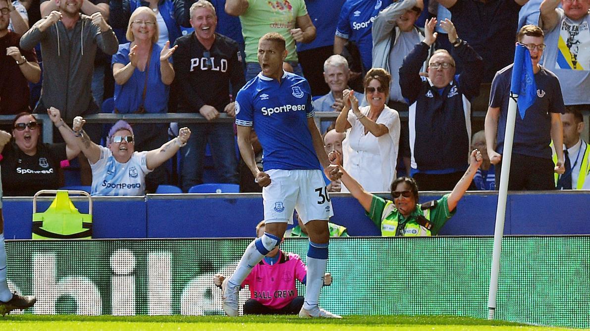 : Premier League: l'incroyable ouverture du score de Richarlison (Everton) face à Manchester United (vidéo)