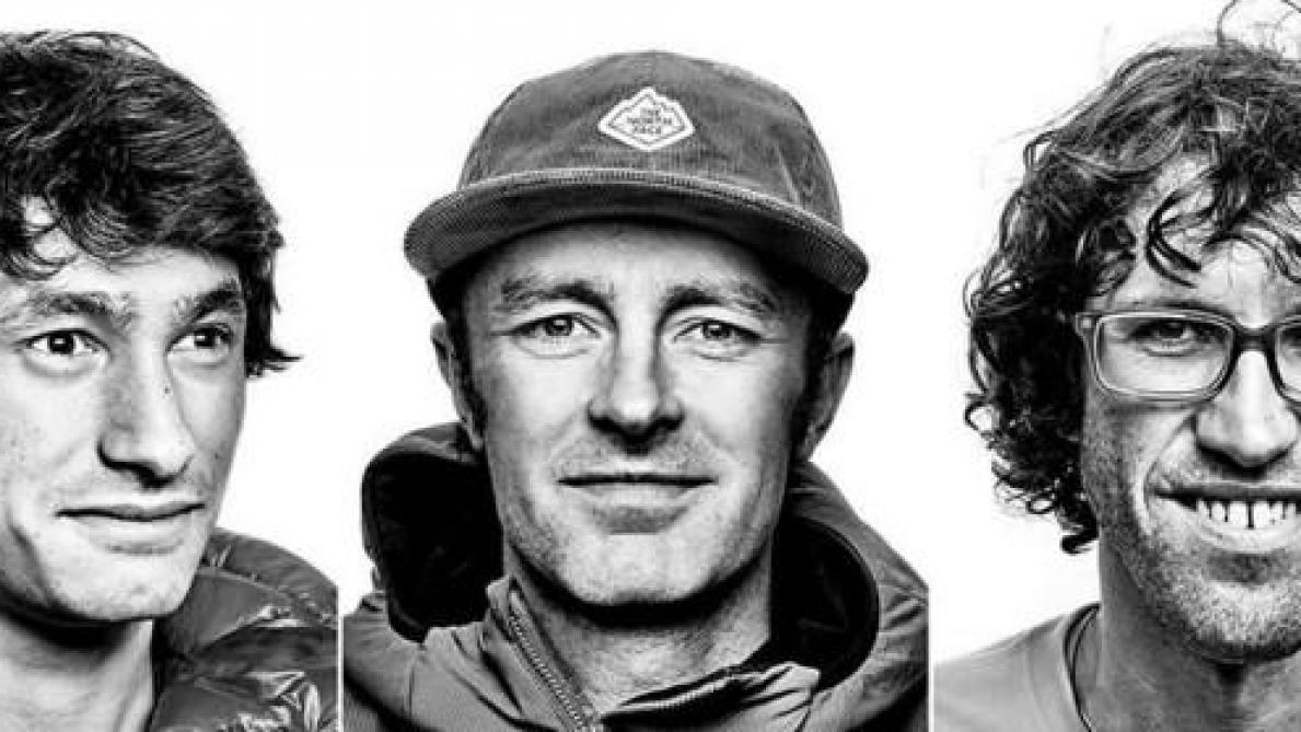 David Lama, Jess Roskelley et Hansjörg Auer ©The North Face