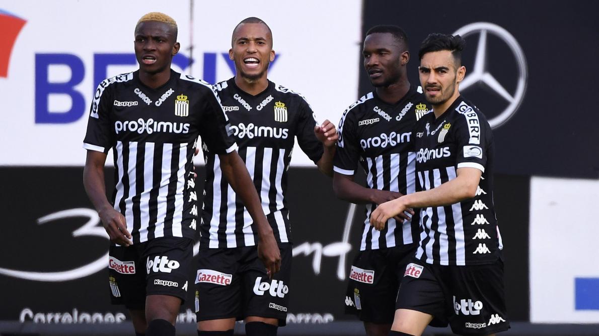 : Charleroi bat le Beerschot et aligne trois succès de rang en Playoffs 2 (4-0)