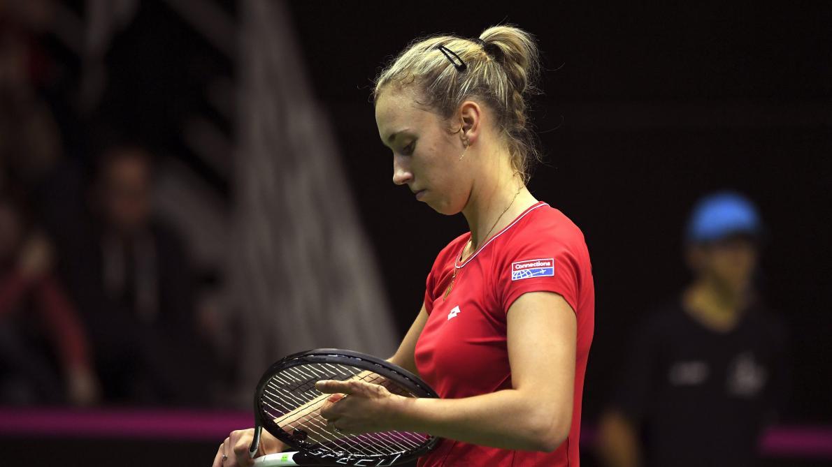 : WTA Stuttgart: Elise Mertens, piégée par Daria Kasatkina, prend la porte d'entrée