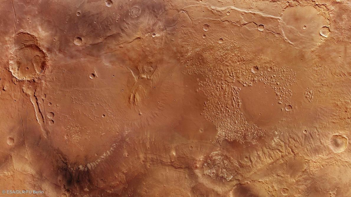 : Un premier tremblement martien détecté sur la planète rouge