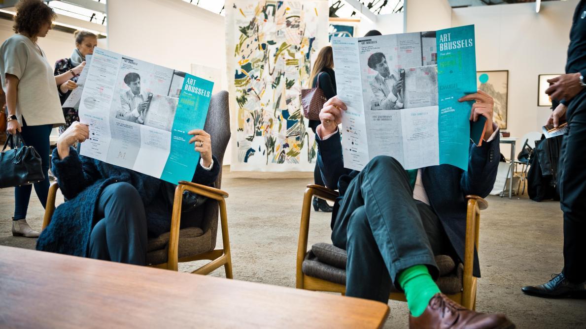 Art Brussels, l'art contemporain pour tous: vrai ou faux?