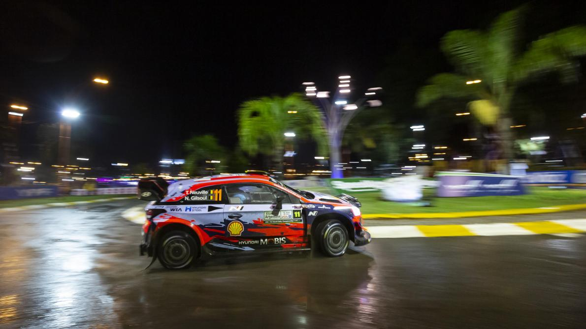 2019 FIA World Rally Championship Round 05, Rally Argentina 25-28 April 2019 Thierry Neuville  Photographer: Austral Worldwide copyright: Hyundai Motorsport GmbH