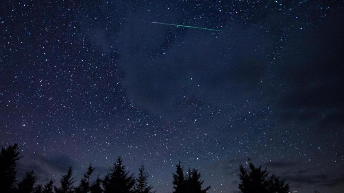 Une pluie d'étoiles filantes à observer ce soir