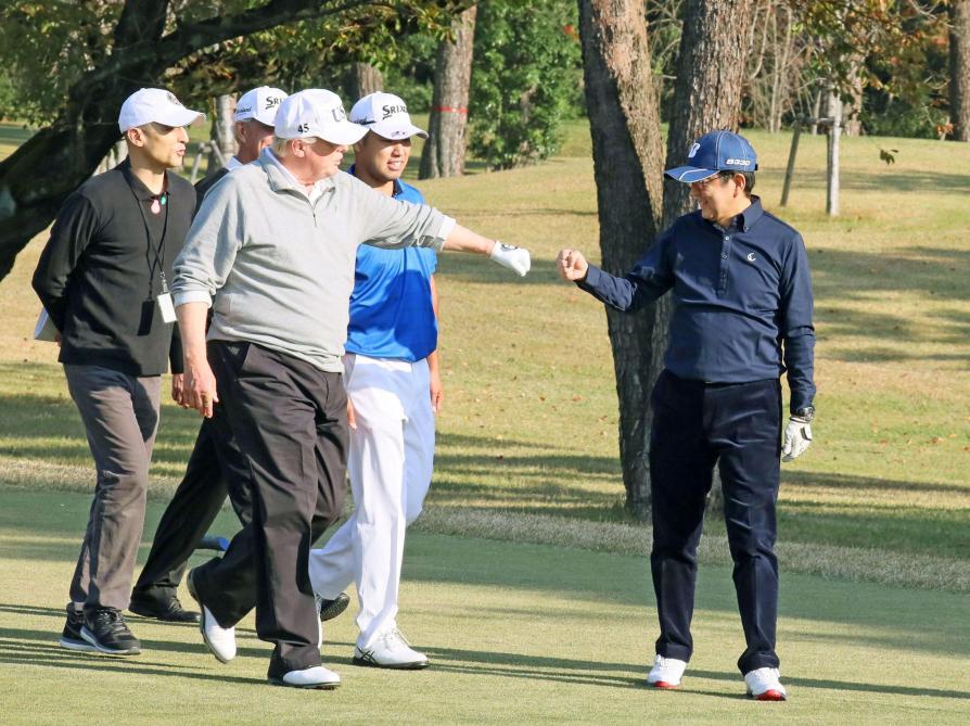 Trump décore Tiger Woods de la médaille de la Liberté — États-Unis