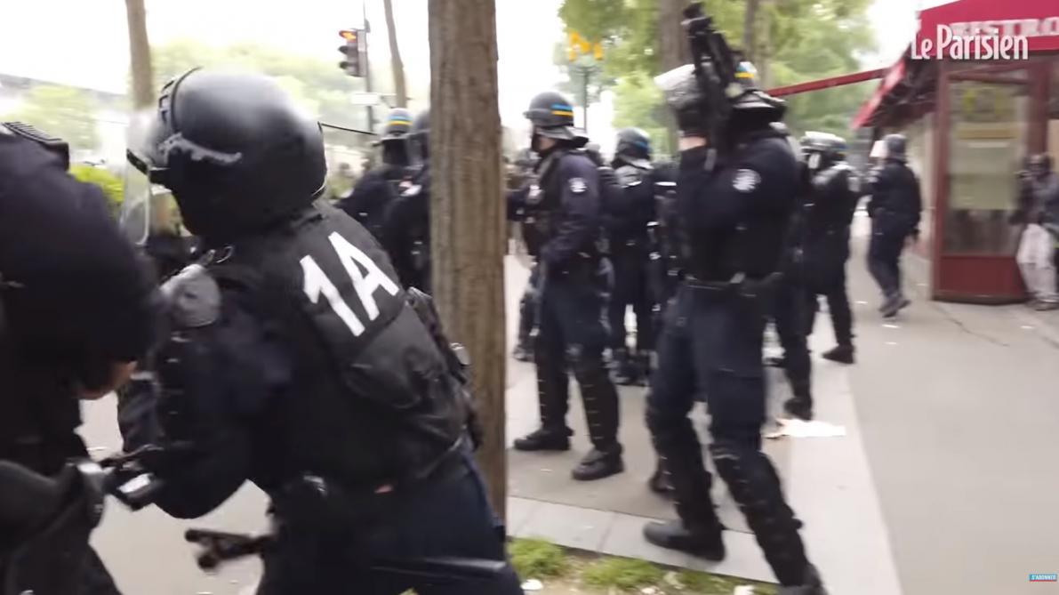 1er Mai à Paris: L'IGPN Saisie Après Une Vidéo Montrant Un