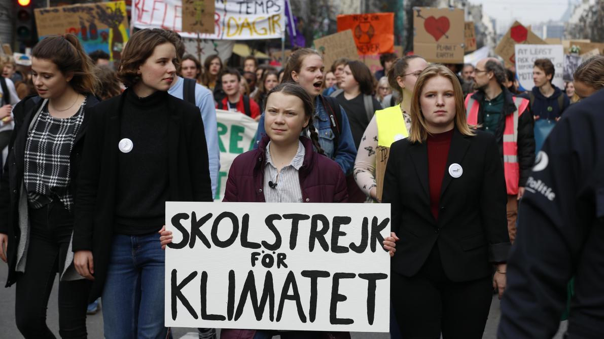 dfc9115a5bd Une deuxième grève mondiale pour le climat est annoncée le vendredi 24 mai  - Le Soir