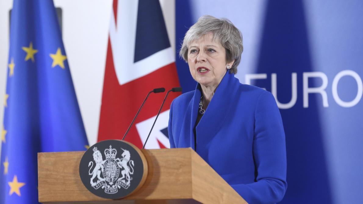 Theresa May présentera un projet de loi en juin — Brexit