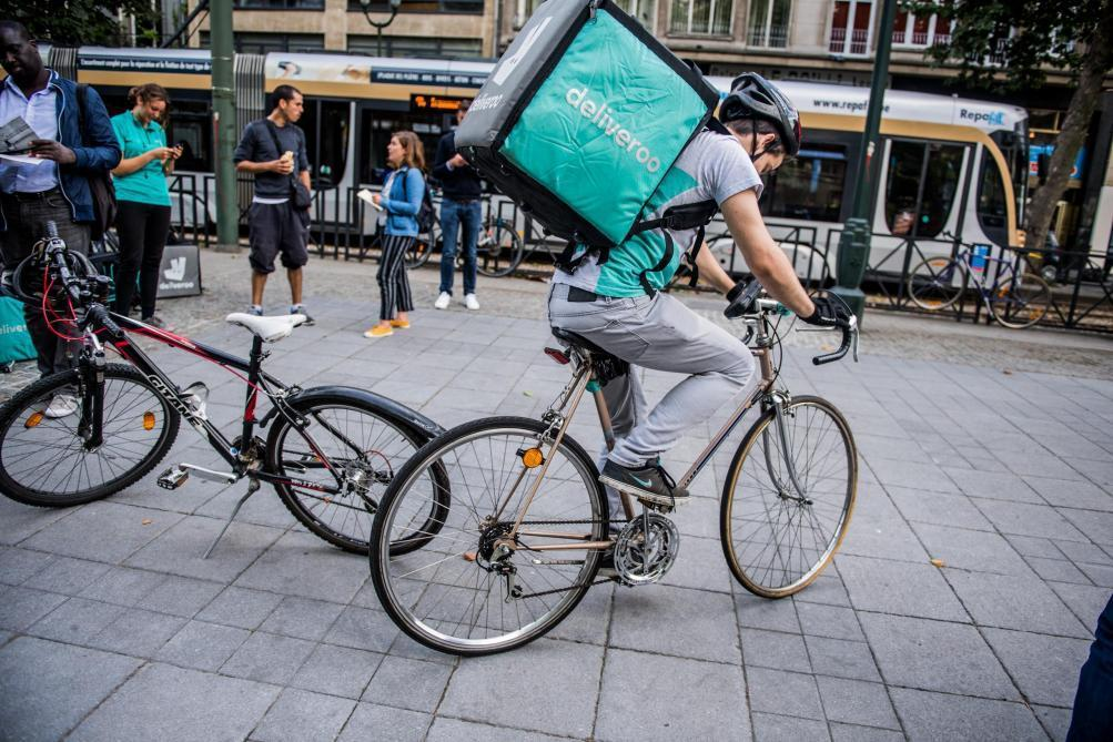 Amazon entre au capital du britannique Deliveroo