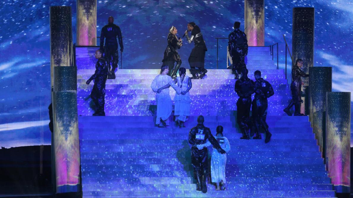 Eurovision: le message politique des danseurs de Madonna (vidéos)