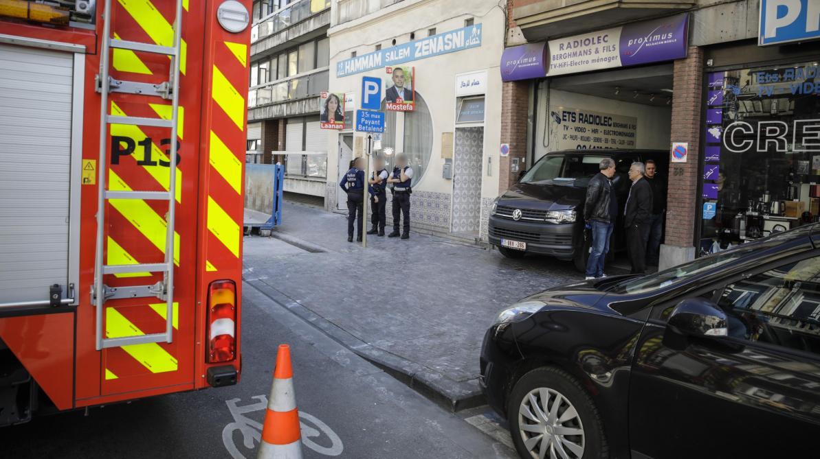 Plan d'urgence à Molenbeek-Saint-Jean: un incendie s'est déclaré dans un immeuble