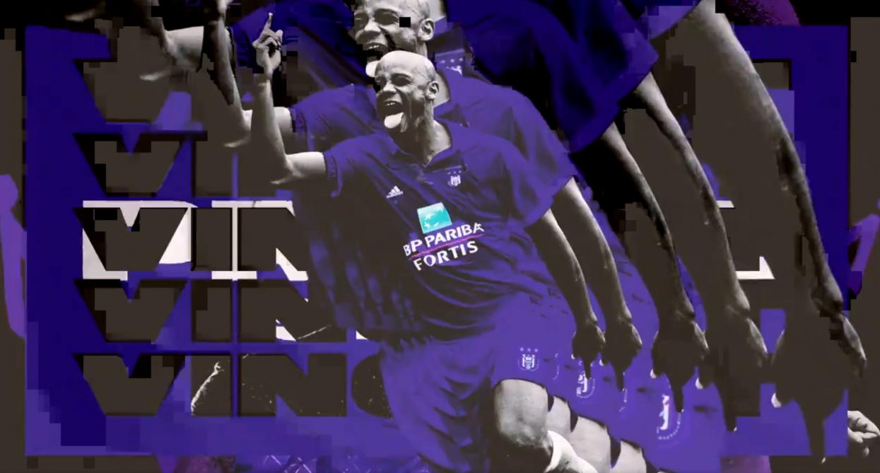 Anderlecht: la vidéo d'annonce du retour de Kompany