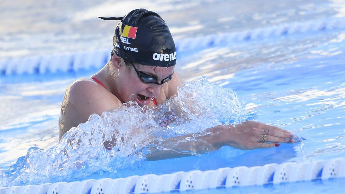 Championnats de Belgique de natation: Fanny Lecluyse réussit le minimum pour les JO 2020 sur 200m brasse