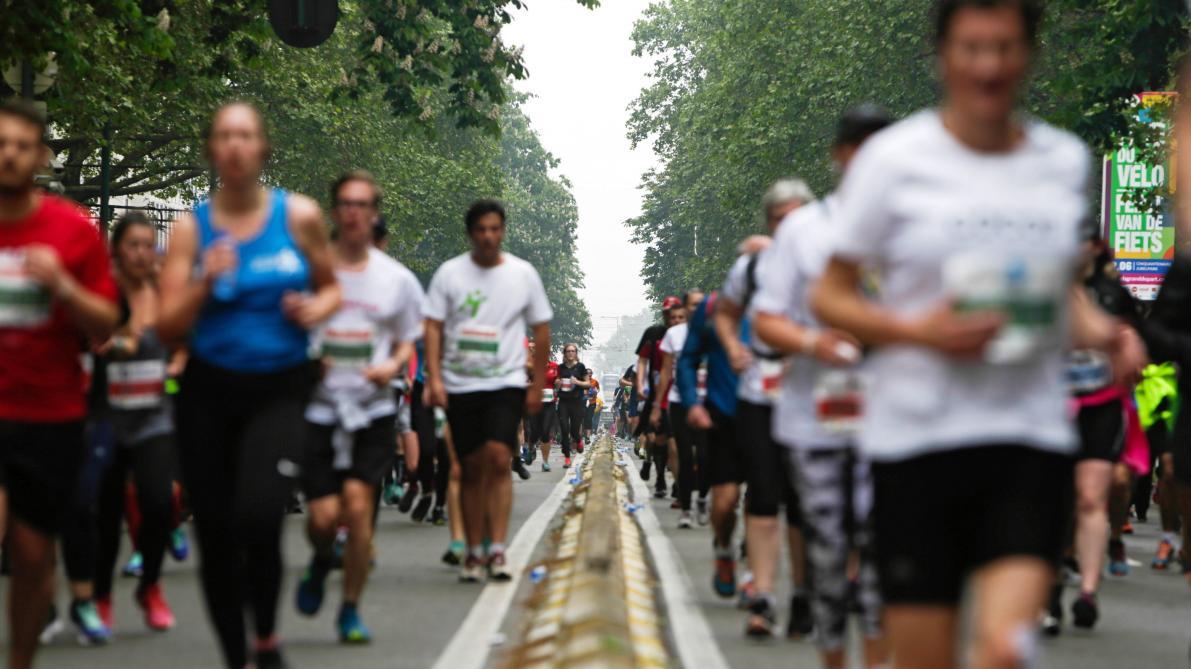 20 km de Bruxelles: la Croix-Rouge a pris en charge 389 coureurs